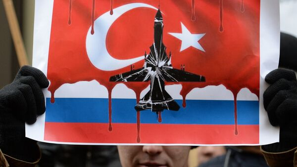 Protests in Moscow against Turkish Air Forces' actions - Sputnik International