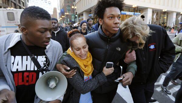 Chicago Protests - Sputnik International