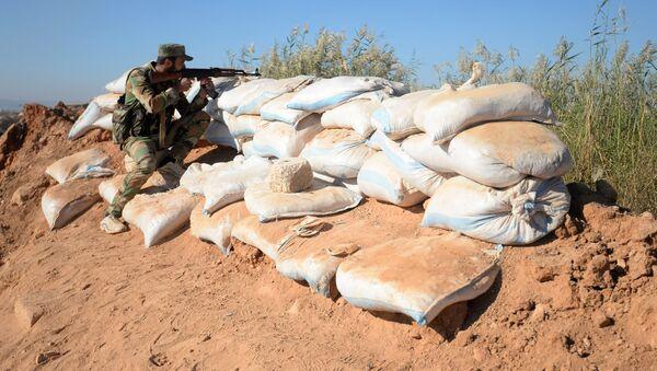 Syrian Arab Army (SAA) soldier (File) - Sputnik International