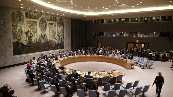 The U.N. Security Council meets at United Nations headquarters, Wednesday, Sept. 30, 2015 - Sputnik International