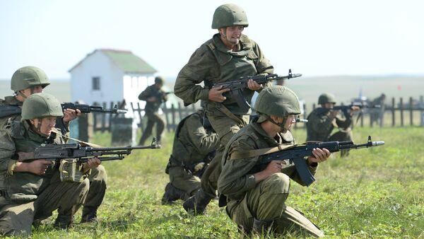 Peace Mission 2013, Russia-China joint anti-terrorism drill - Sputnik International