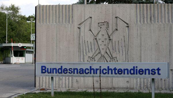 The entrance to Germany's intelligence agency Bundesnachrichtendienst BND in Pullach, southern Germany. - Sputnik International