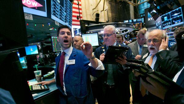 New York Stock Exchange, Wednesday, Dec. 9, 2015 - Sputnik International
