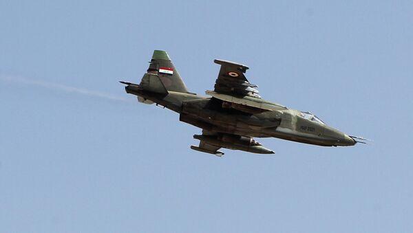 An Iraqi Sukhoi Su-25 jet - Sputnik International