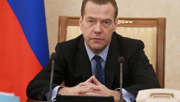 Prime Minister Dmitry Medvedev holds meeting of Commission on Monitoring Foreign Investment - Sputnik International