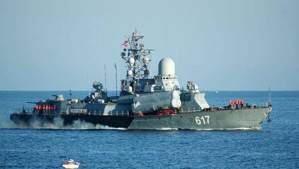 Small missile ship Mirazh of the Russian Black Sea Fleet. File photo - Sputnik International