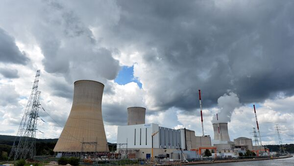 A photo taken on August 20, 2014 shows a nuclear power plant, in Tihange, Belgium. - Sputnik International