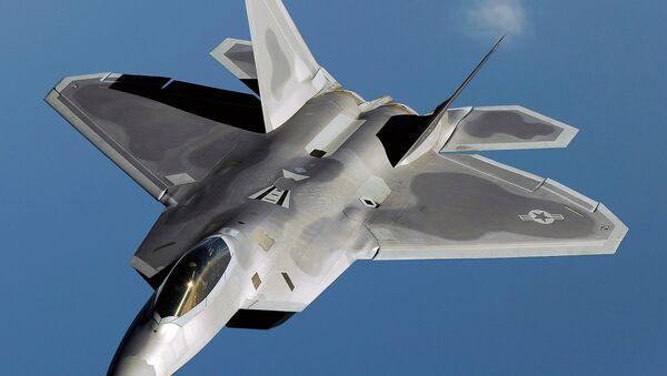 Lockheed Martin F-22 Raptor - Sputnik International