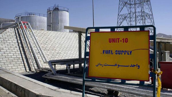 The exterior of the Arak heavy water production facility in Arak, Iran, 360 kms southwest of Tehran, is seen on in this Oct. 27, 2004 file photo - Sputnik International