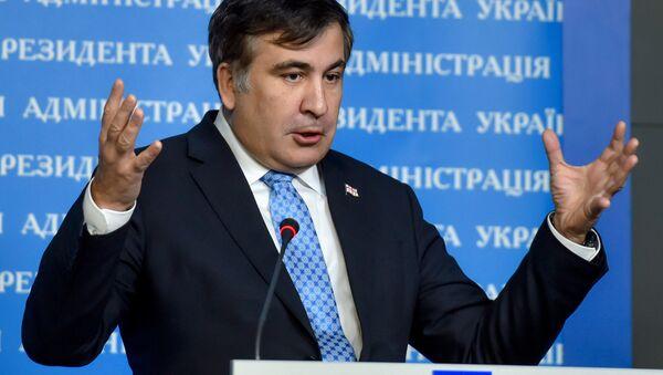 The governor of the Odessa Region and ex-Georgian president Mikheil Saakashvili - Sputnik International
