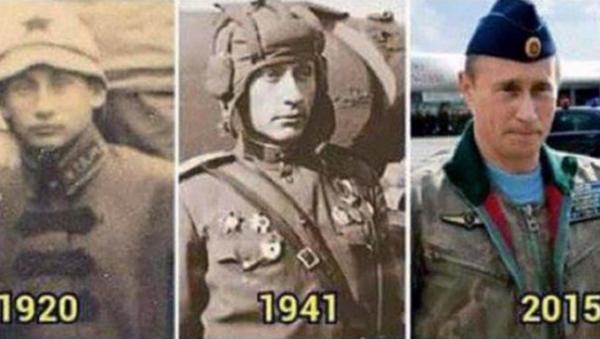 Putin, through the years... - Sputnik International