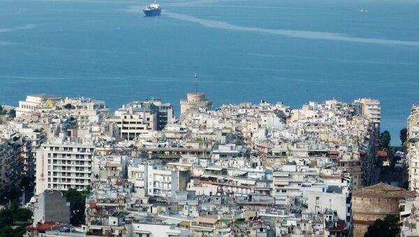 A view of the city of Thessaloniki in Greece - Sputnik International