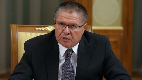 Aleksei Ulyukaev, Minister of Economic Development, attending the Cabinet meeting at the Government House, November 26, 2015 - Sputnik International