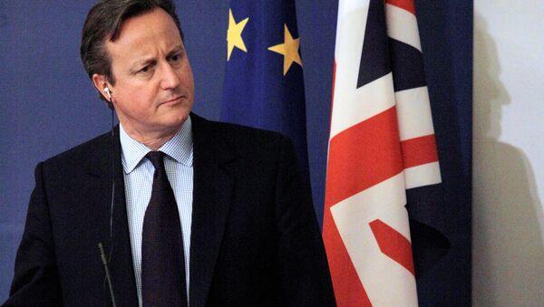 British Prime Minister David Cameron - Sputnik International