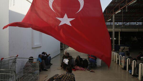 Middle East migrants in Bodrum - Sputnik International