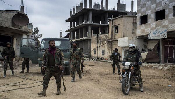 Syrian Arab Army (SAA) soldiers - Sputnik International