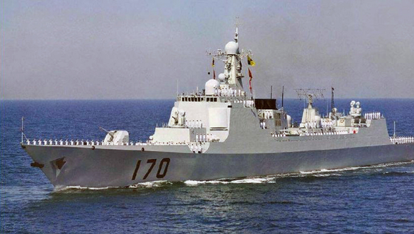 Lanzhou destroyer - Sputnik International
