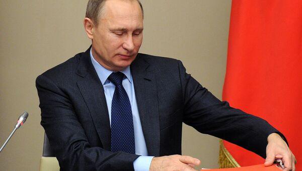 President Vladimir Putin chairs meeting of Russian Security Council - Sputnik International