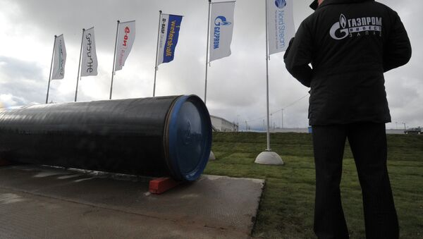 Launch of second section of Nord Stream gas pipeline - Sputnik International