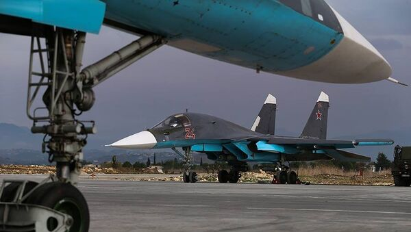 Everyday life of the Russian air group at the Hmeymim airfield in Syria - Sputnik International