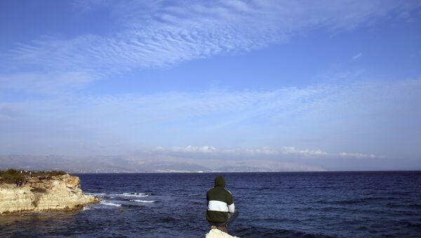 The eastern Aegean Sea. - Sputnik International
