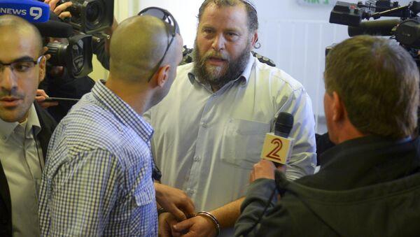 Jewish extremist leader Benzi Gopstein. - Sputnik International