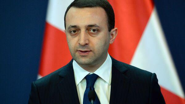 Georgian Prime Minister Irakli Garibashvili. - Sputnik International