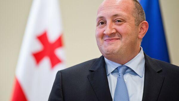 Georgian President Giorgi Margvelashvili - Sputnik International