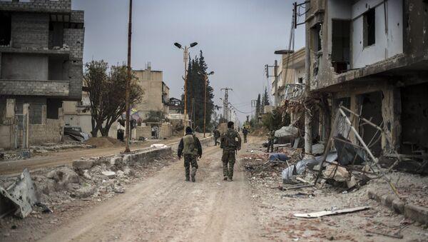 Syrian army captures Marj al-Sultan military airbase - Sputnik International