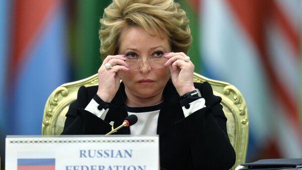 Valentina Matvienko, Speaker of the Federation Council of the Russian Federation - Sputnik International