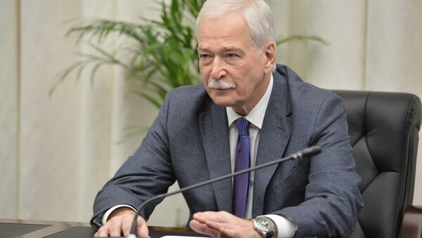 December 19, 2014. Permanent Member of the Russian Security Council, Chairman of the Supreme Council of the United Russia Party Boris Gryzlov during the Russian Security Council meeting at the Russian Defense Control Center - Sputnik International