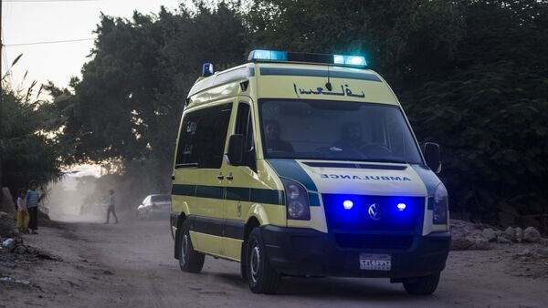 Egyptian ambulance - Sputnik International