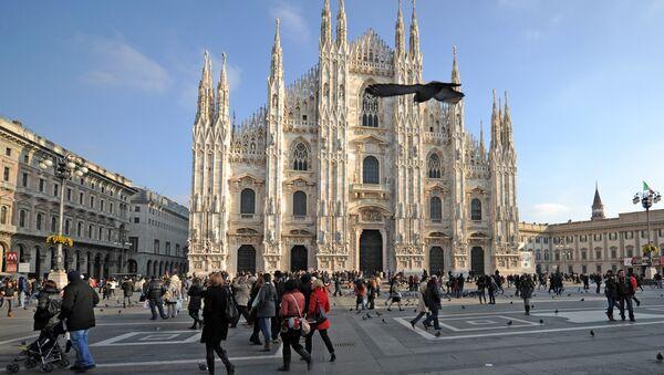 The Santa Maria Nascente Cathedral in Milan - Sputnik International
