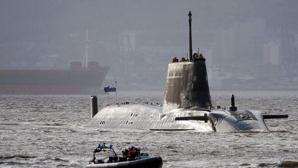 HMS Astute, the British Royal Navy's latest nuclear hunter killer submarine - Sputnik International