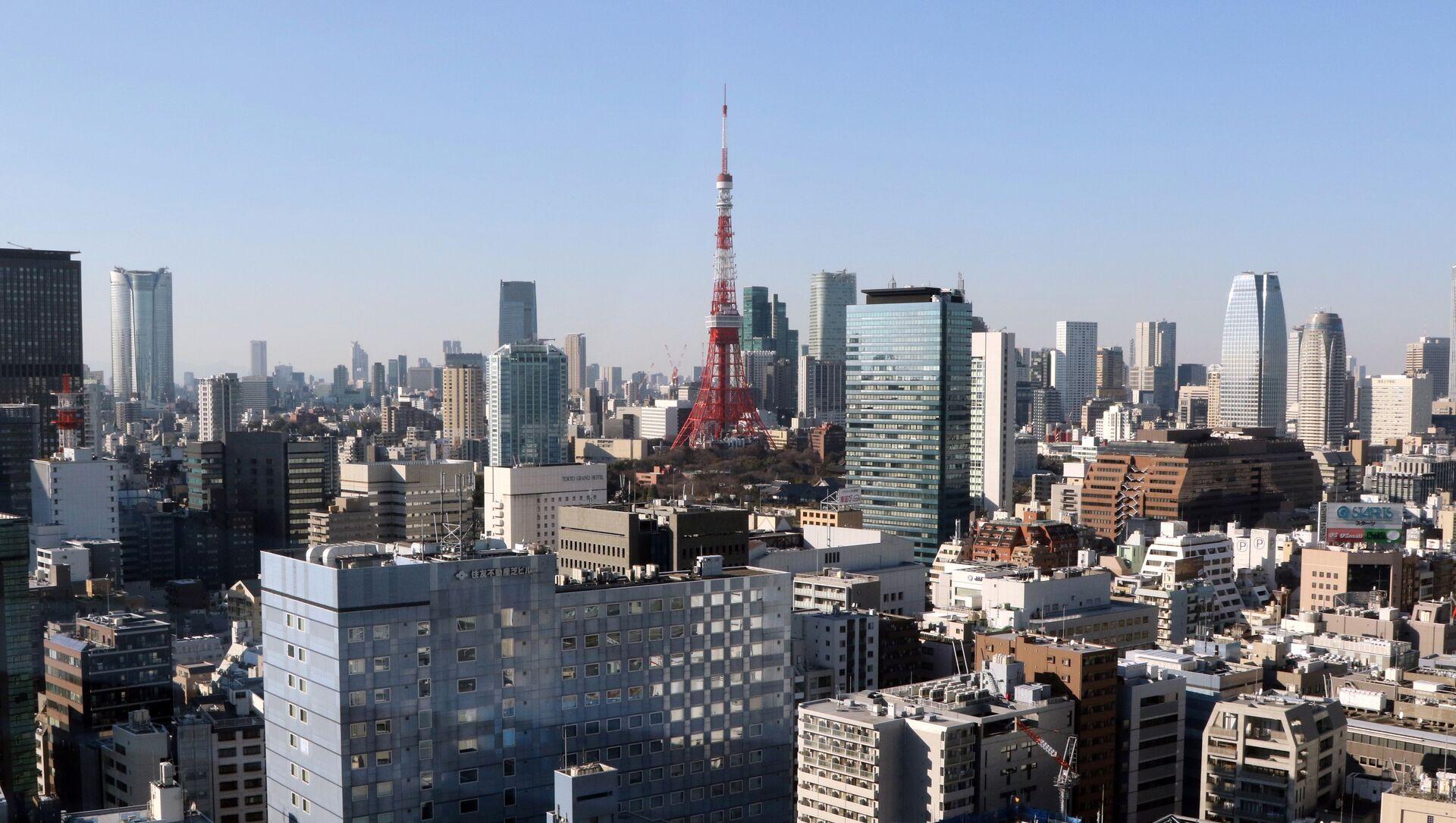 Skyline of central Tokyo - Sputnik International, 1920, 24.07.2021