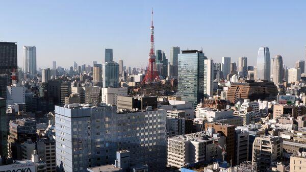 Skyline of central Tokyo - Sputnik International