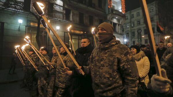 Nationalist March in Kiev - Sputnik International