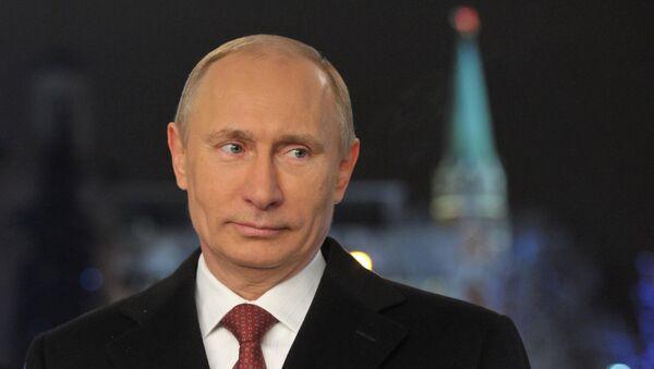 Russian President Putin makes New Year's address - Sputnik International
