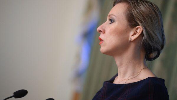 Briefing by Foreign Ministry Spokesperson Maria Zakharova - Sputnik International