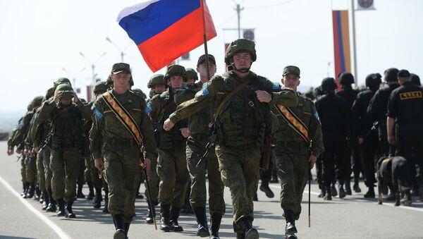 Enduring Brotherhood 2015 CSTO peacekeeping exercises - Sputnik International