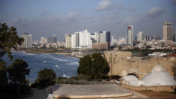 A picture taken on November 29, 2015 shows the Tel Aviv skyline from the neighbourhood of Jaffa - Sputnik International