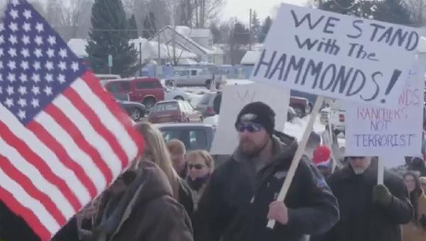 USA: Armed militia occupy federal building in Oregon - Sputnik International