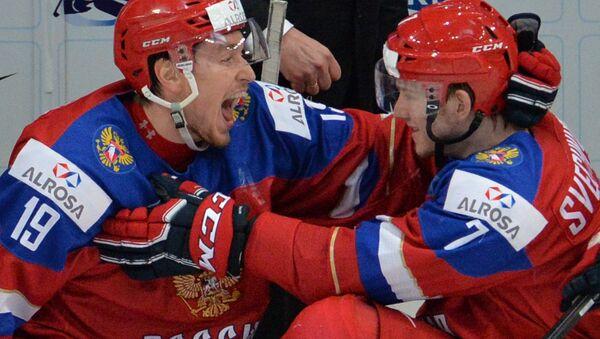 Ice Hockey World Youth Championship. Russia - USA - Sputnik International