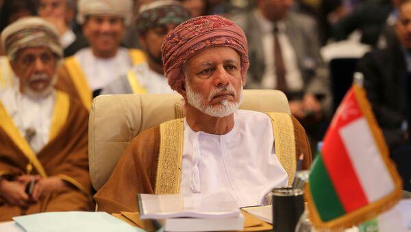 Oman's minister responsible for foreign affairs, Yussef bin Alawi bin Abdullah - Sputnik International