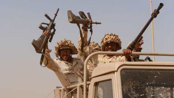 Saudi troops - Sputnik International