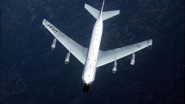 US Air Force shows an RC-135 surveillance aircraft  - Sputnik International