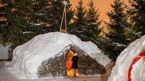 Russia celebrates Orthodox Christmas - Sputnik International