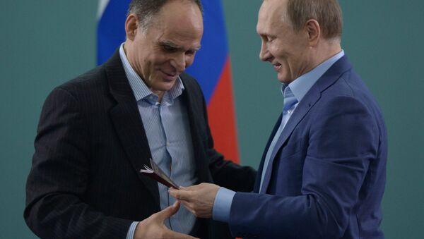 President Vladimir Putin meets with Russian judo national team members - Sputnik International