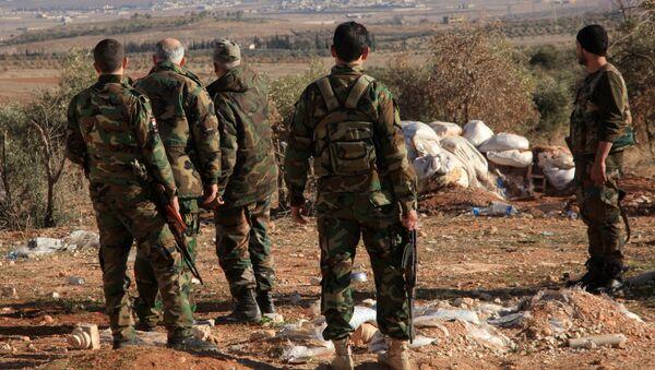 Syrian Army Repels Daesh Attack Near Deir ez-Zor Airbase - Sputnik International