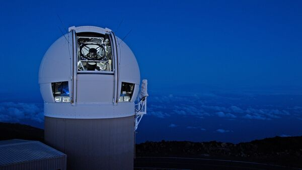 The Panoramic Survey Telescope & Rapid Response System (Pan-STARRS) 1 telescope on Maui's Mount Haleakala, Hawaii has produced the most near-Earth object discoveries of the NASA-funded NEO surveys in 2015. - Sputnik International